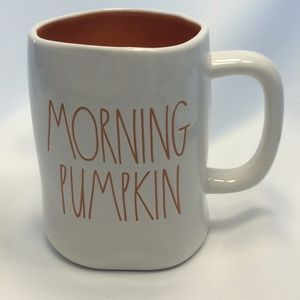 Rae Dunn 'MORNING PUMPKIN'  Mug